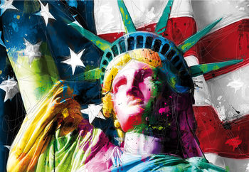 Patrice Murciano - Liberty Poster Mural