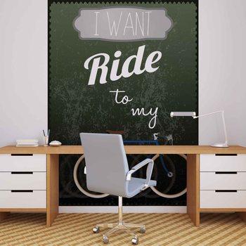 Racing Bicycle Poster Mural