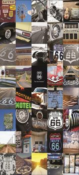 Route 66 Poster mural