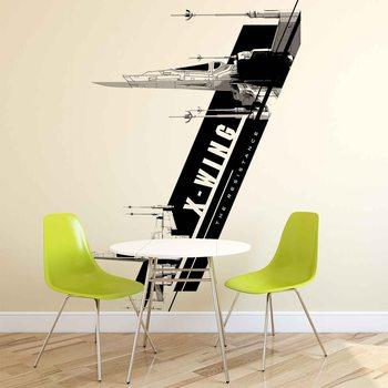 Star Wars Force Awakens X-Wing Poster Mural