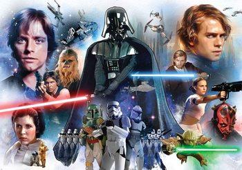 Star Wars Poster Mural