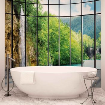 View Tropical Landscape Poster Mural