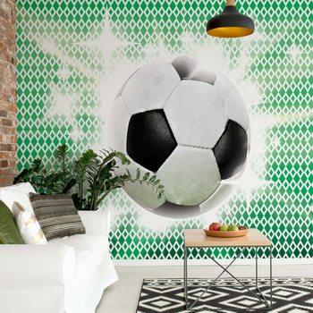 3D Football Wallpaper Mural