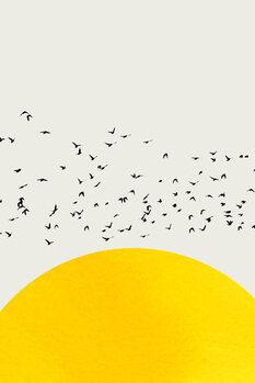 Wallpaper Mural A Thousand Birds