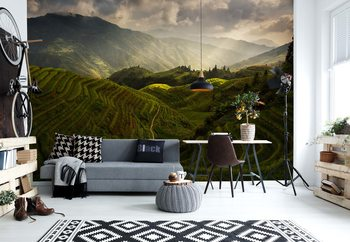 A Tuscan Feel In China Wallpaper Mural