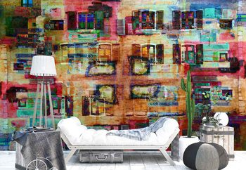 Abstract Architecture Wallpaper Mural