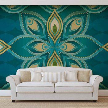 Abstract Art - Mandala Wallpaper Mural