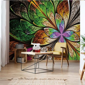 Abstract Colourful Design Wallpaper Mural