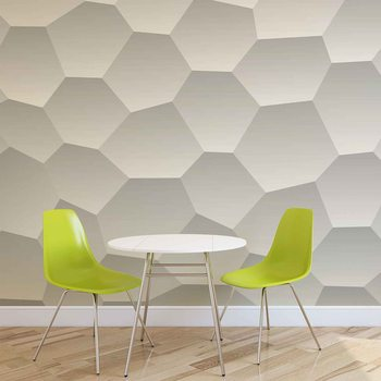 Abstract Modern Monochrome Design Wallpaper Mural