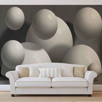 Abstract Monochrome Modern Design Wallpaper Mural