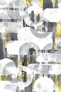 Wallpaper Mural Abstract Painting No. 58 | Play with shapes and colors