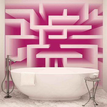 Abstract Pattern Modern Wallpaper Mural