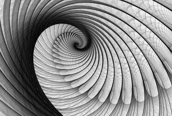 Abstract Swirl Wallpaper Mural