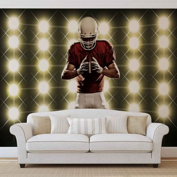 American Football Wallpaper Mural