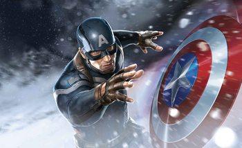 Avengers  - Captain America Wallpaper Mural