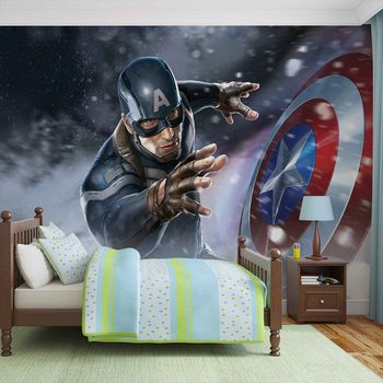 Avengers  - Captain America Wallpaper Mural