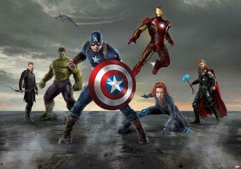 Avengers - Formation Wallpaper Mural