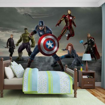Avengers - Formation Wallpaper Mural