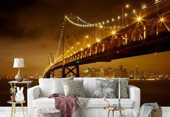 Bay Bridge Wallpaper Mural