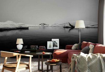 Black And White Wallpaper Mural