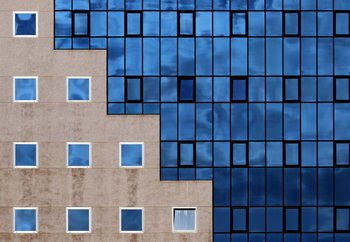 Blue Windows Wallpaper Mural