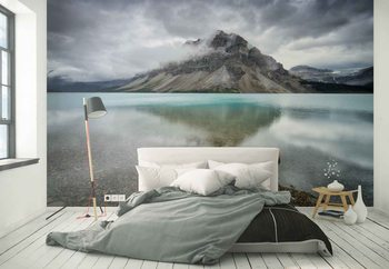 Bow Lake Wallpaper Mural