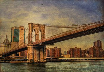 Brooklyn Bridge Wallpaper Mural