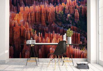 Bryce Canyon At Sunset Wallpaper Mural