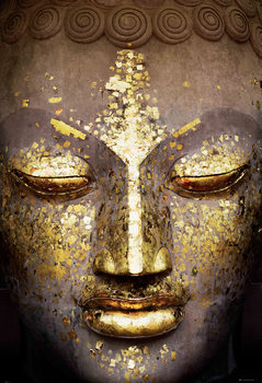 Buddha - Face Wall Mural