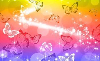 Butterflies Wallpaper Mural