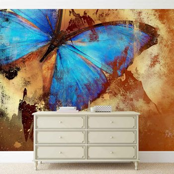Butterfly Art Wallpaper Mural