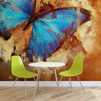 Wall murals wallpapers buy wall murals online at for Butterfly mural wallpaper