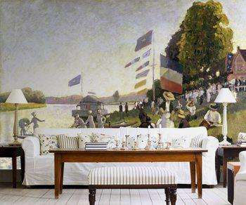 Camille Pissarro - Regatta Wallpaper Mural