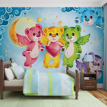 Care Bears Heart Wallpaper Mural