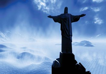 Christ Redeemer Rio Wallpaper Mural