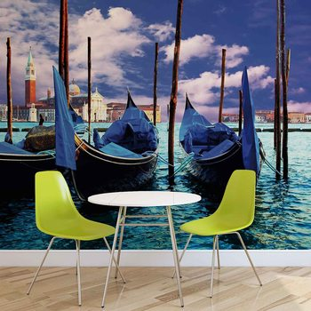 City Venice Gondola Wallpaper Mural