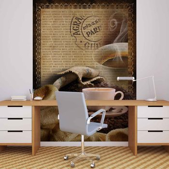 Coffee Beans Wallpaper Mural