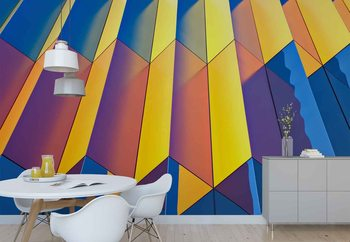 Color Cascade Wallpaper Mural