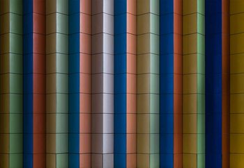 Colorful Stripes Wallpaper Mural