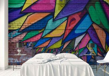 Colours Of The City Wallpaper Mural