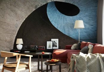 Concrete Wave Wallpaper Mural