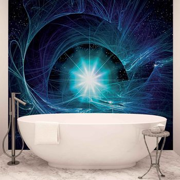 Cosmic Star Abstract Wallpaper Mural
