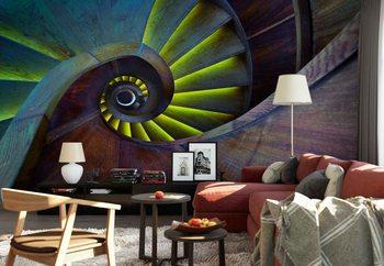 Crazy Eye Wallpaper Mural