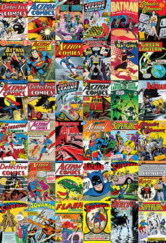 DC Comics Covers Wallpaper Mural