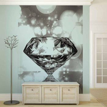 Diamond Wallpaper Mural