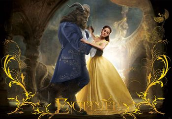 Disney Beauty and the Beast (11180) Wallpaper Mural