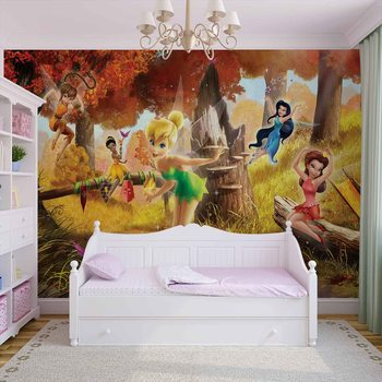 Disney Fairies Tinker Bell Rosetta Klara Wallpaper Mural