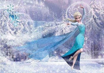 Disney Frozen Elsa 368x254 cm - 115g/m2 Paper Wallpaper Mural