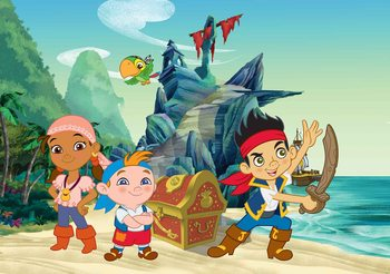 Disney Jake Neverland Pirates Wallpaper Mural