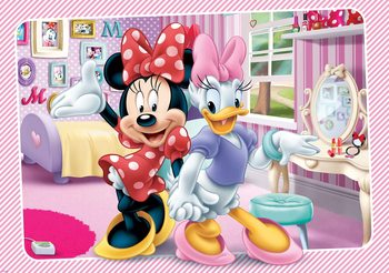 Disney Minnie Mouse 312x219 cm - 130g/m2 Vlies Non-Woven Wallpaper Mural